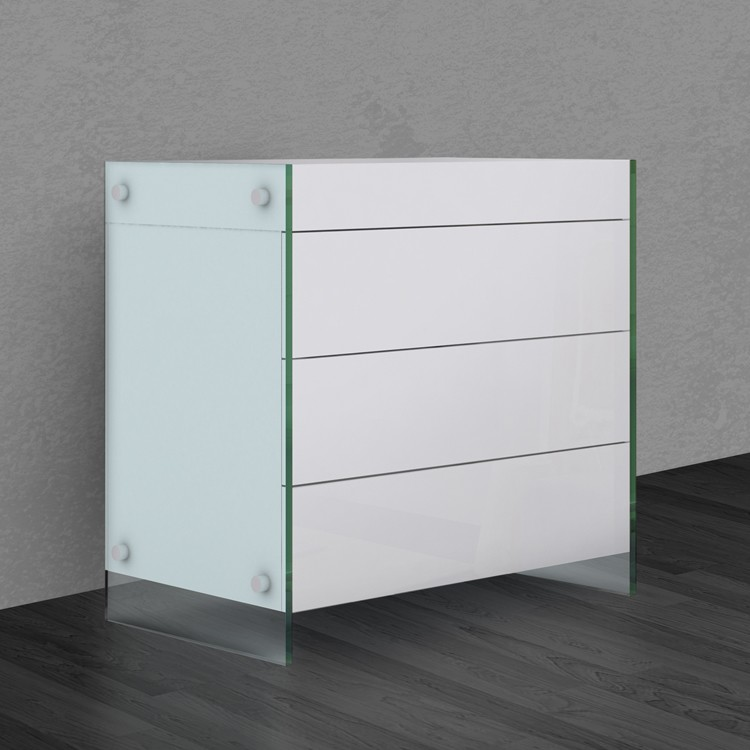 Il Vetro Tall Dresser CB-111 cabinet from Casabianca