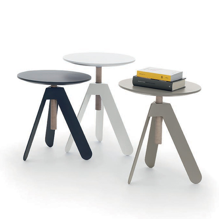 Basalto end table from Bontempi, designed by Roberto Giacomucci