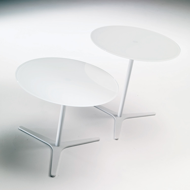 Elica, end table from Bontempi