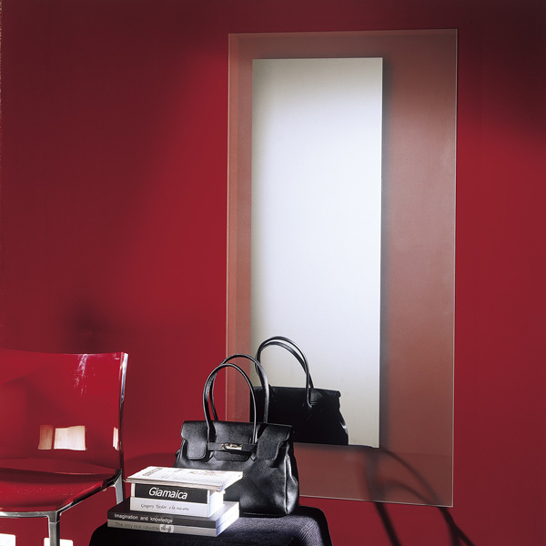 Square mirror from Bontempi