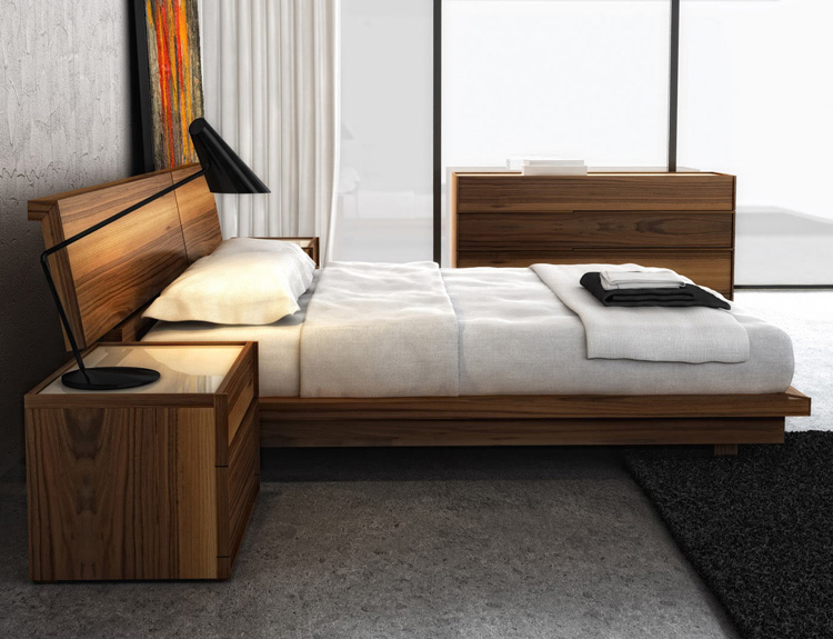 Swan Bed from Huppe
