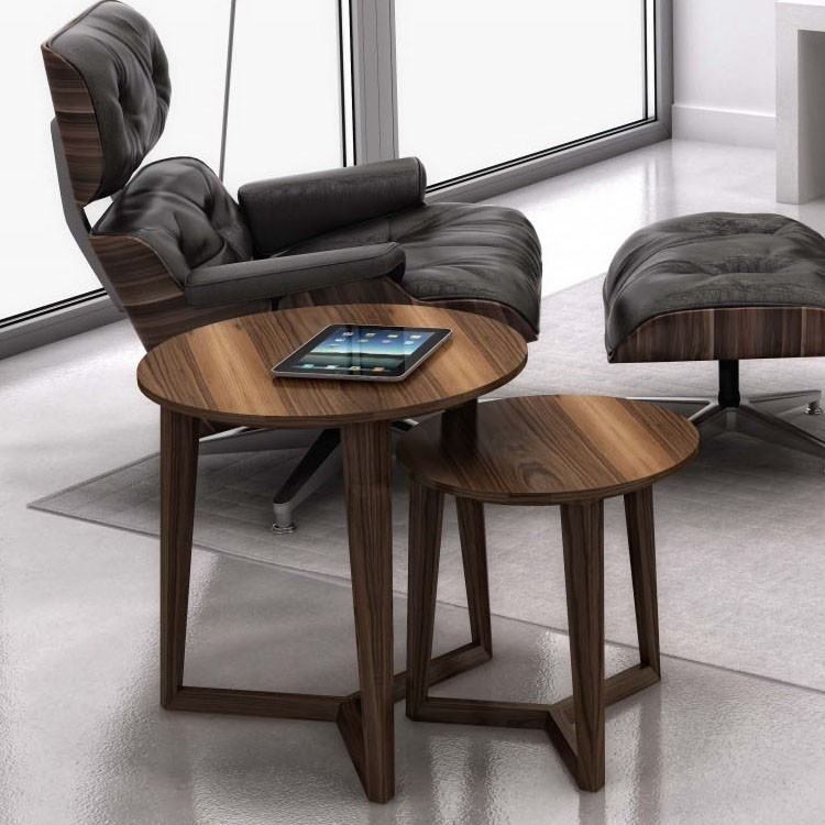 Huppe Moment End Table Wooden | Contemporary Living ...