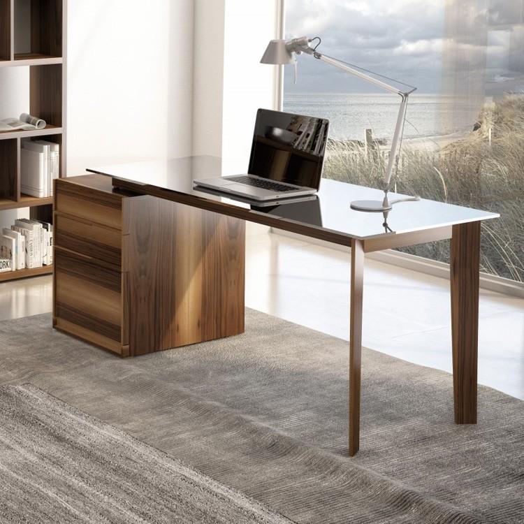 Huppe Swan Front Desk Wooden Office, Ultra Modern Office Furniture