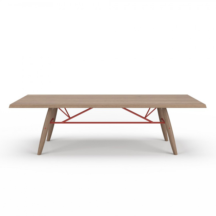 Connection Dining Table (Wood Top) from Huppe