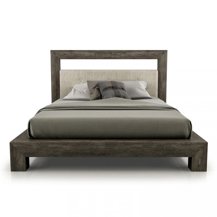 Cloe Bed (Upholstered Headboard) from Huppe