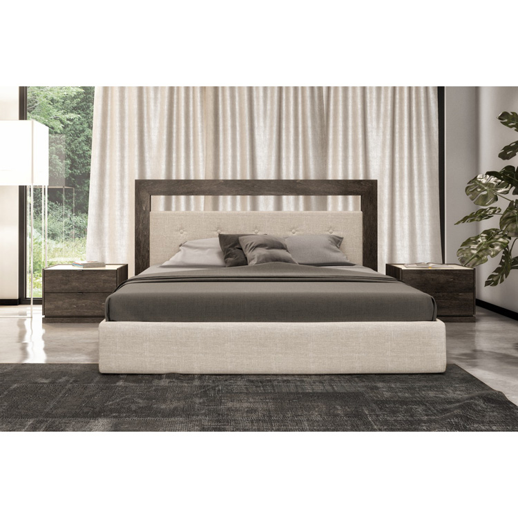 Cloe Bed (Upholstered) from Huppe