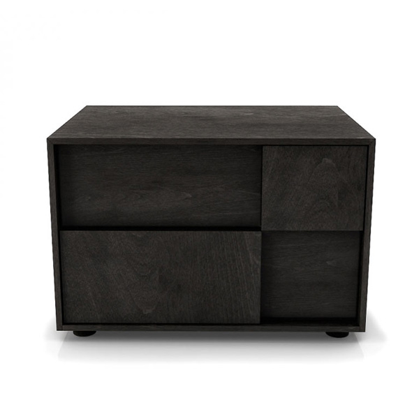 Cubic 2 Drawer Night Table 004144 from Huppe