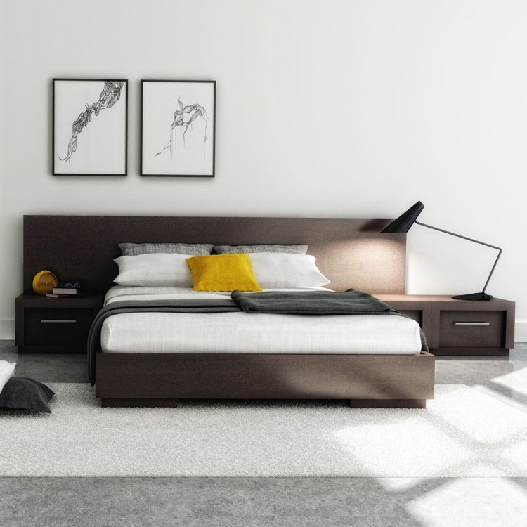 Huppe Amelia Bed Wooden Bed | Bedroom Furniture - Ultra ...