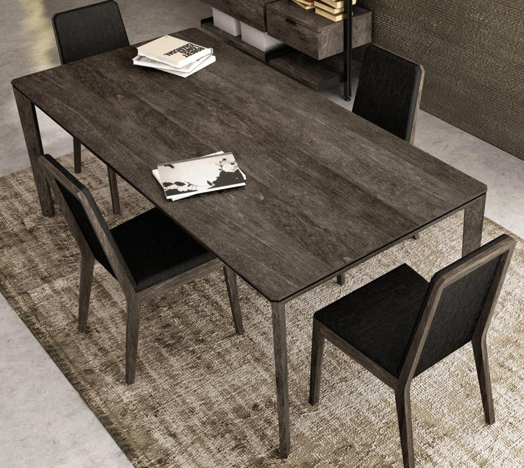 Outline Dining Table 1400 from Huppe