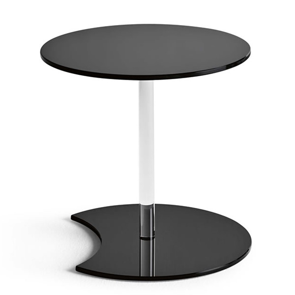 Lens end table from Tonelli
