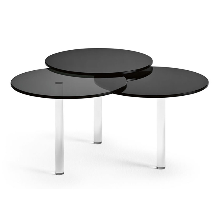 Lenses end table from Tonelli