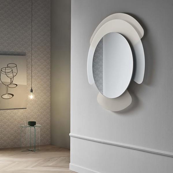 Opalina Specchiera mirror from Tonelli