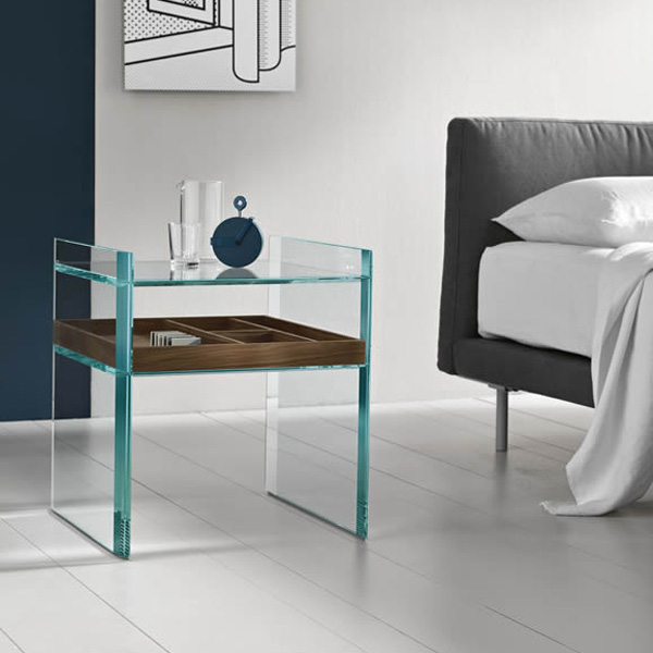 Quiller Side Table end from Tonelli
