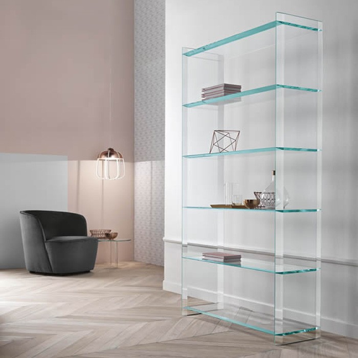 Quiller Libreria bookcase from Tonelli, designed by Uto Balmoral