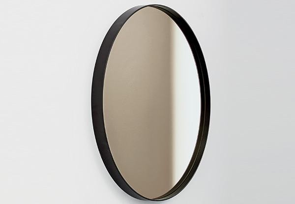 Visual Round mirror from Sovet