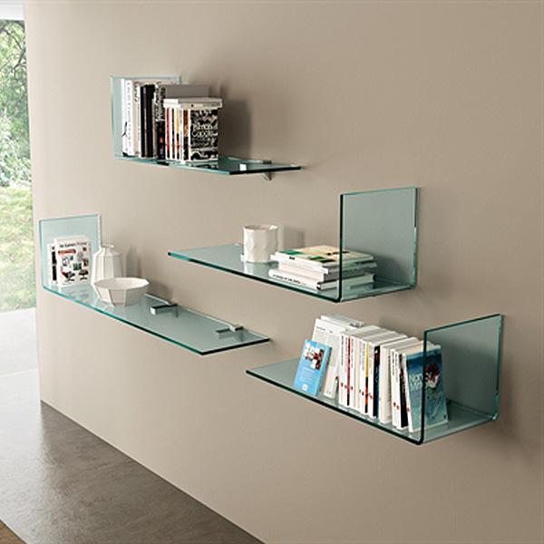 Mensole Rialto L bookcase from Fiam, designed by CRS Fiam