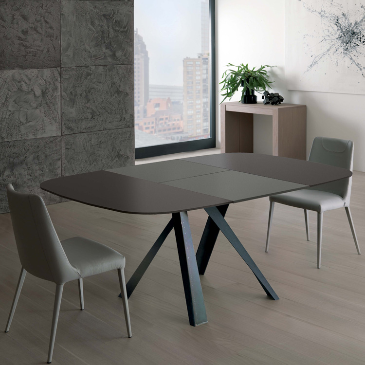 Bombo Extending T246 dining table from Ozzio