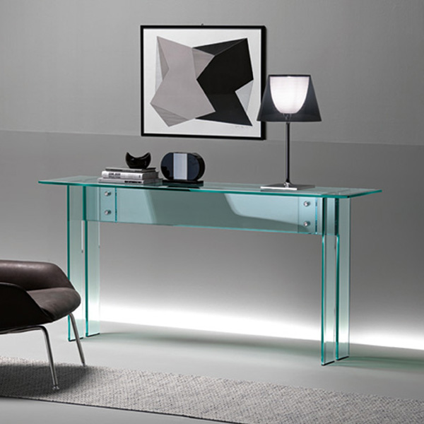 LLT Console table from Fiam, designed by Dante O. Benini