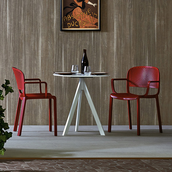 Dome 266 chair from Pedrali, designed by Odoardo Fioravanti