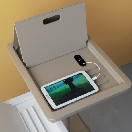 Tablet end table from Compar