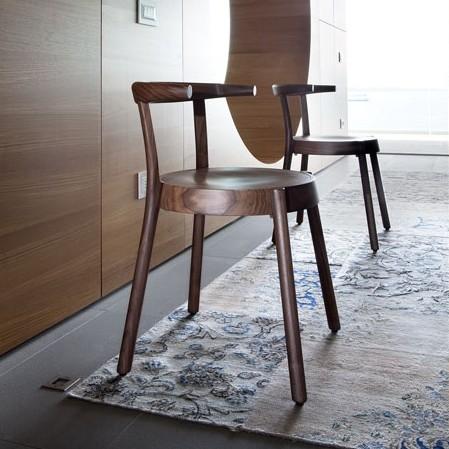 Espresso 156.01 chair from Tonon