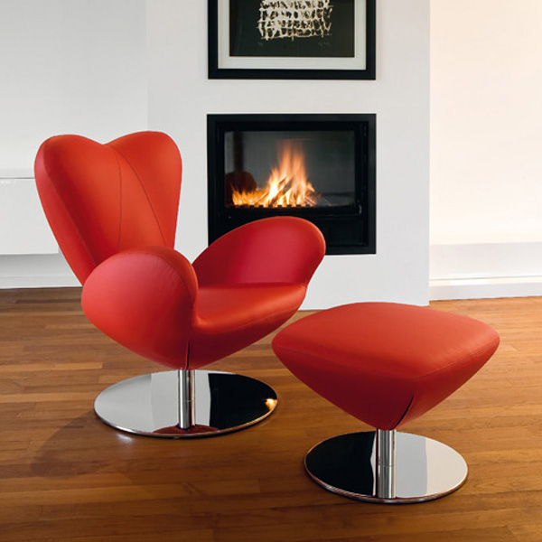 Heartbreaker lounge chair from Tonon