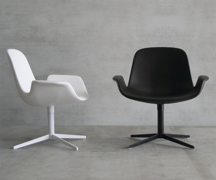 Step Lounge 904.75 chair from Tonon