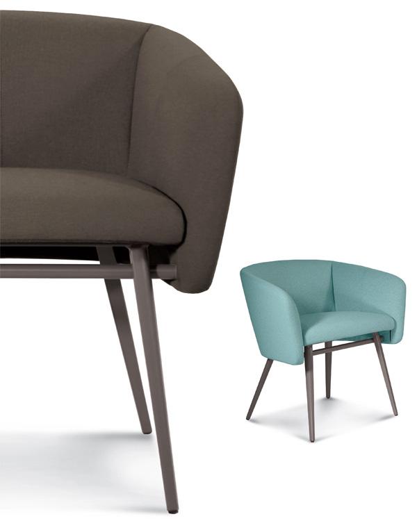 Balu Met chair from Trabaldo