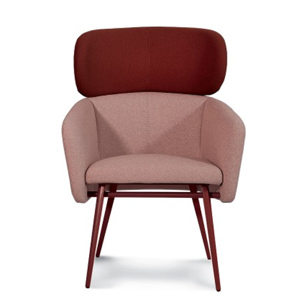 Balu Lounge Met chair from Trabaldo