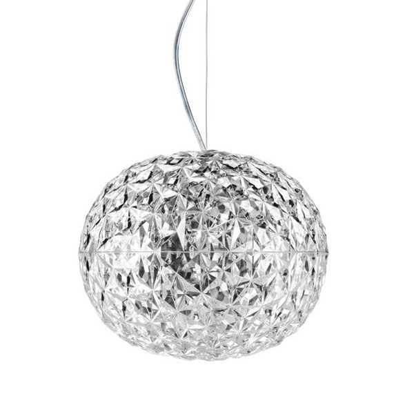 Planet Suspension lighting from Kartell, designed by Tokujin Yoshioka