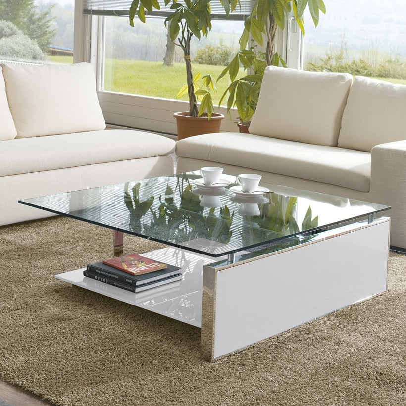 Fan coffee table from Antonello Italia
