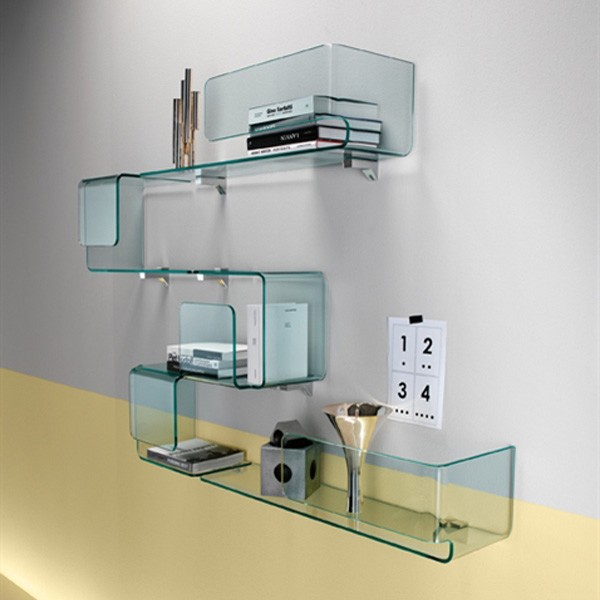 Foulard bookcase from Fiam, designed by Studio Klass