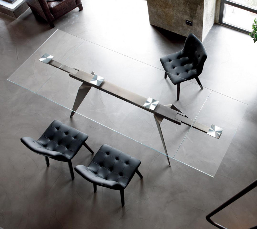 Ramos dining table from Bontempi