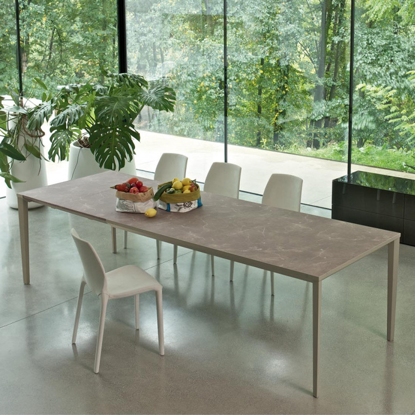 Echo In dining table from Bontempi