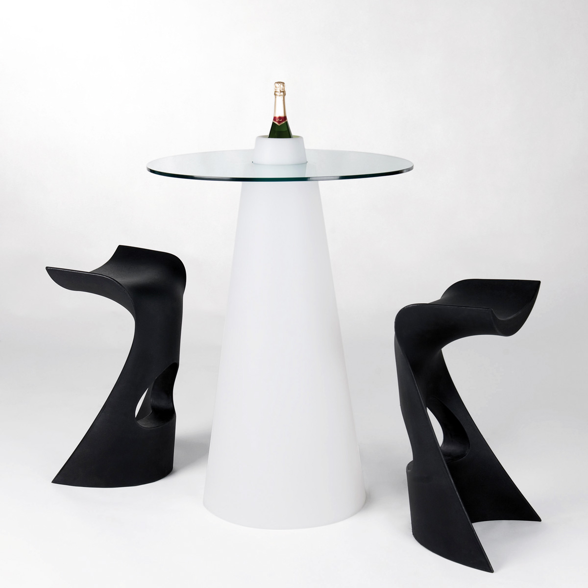 Peak bar table from Slide