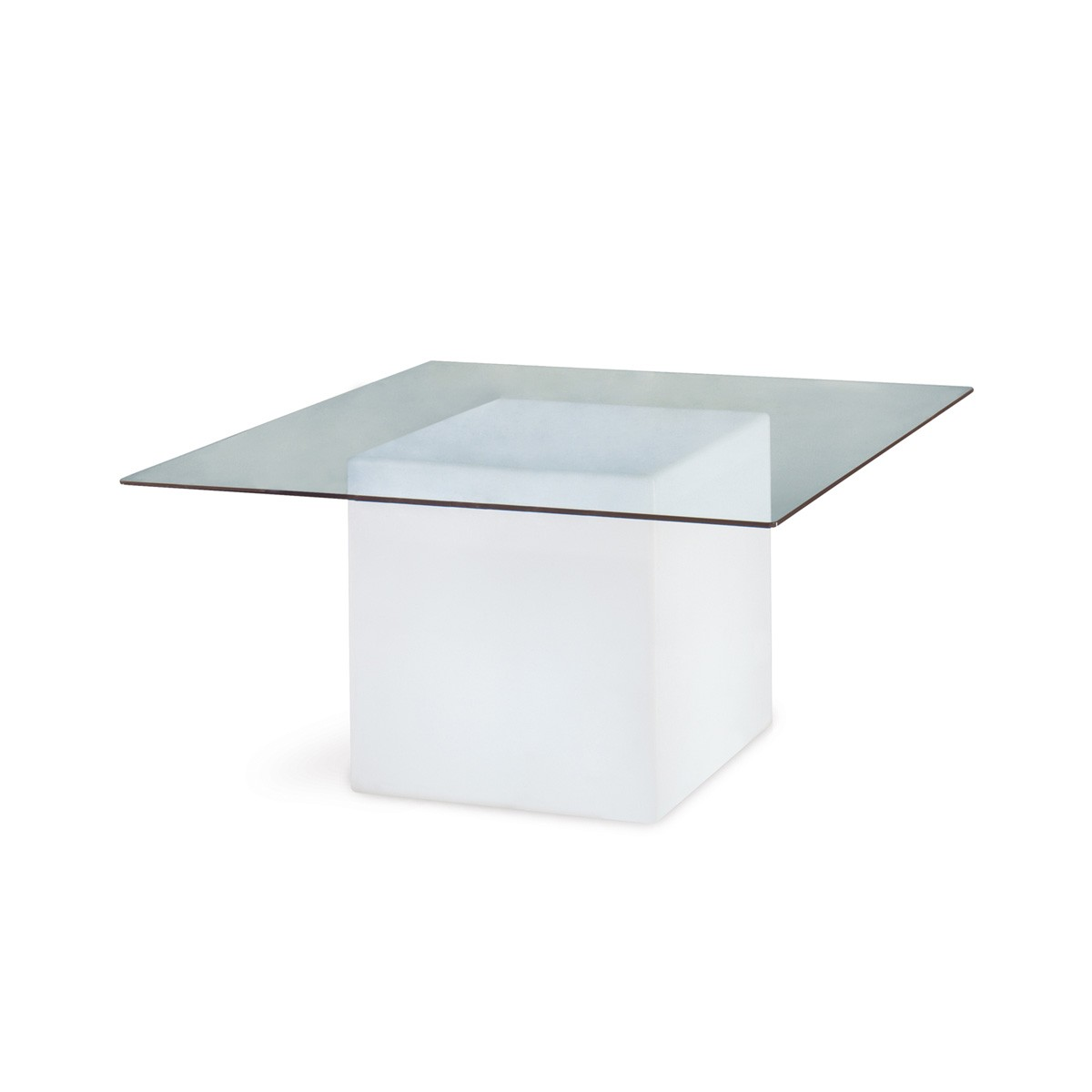 Square dining table from Slide