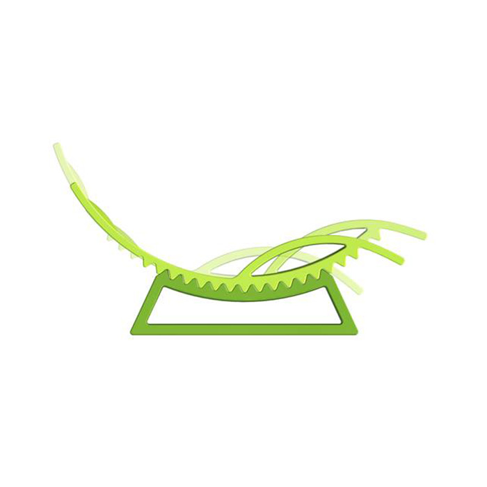 Tic Tac lounger from Slide