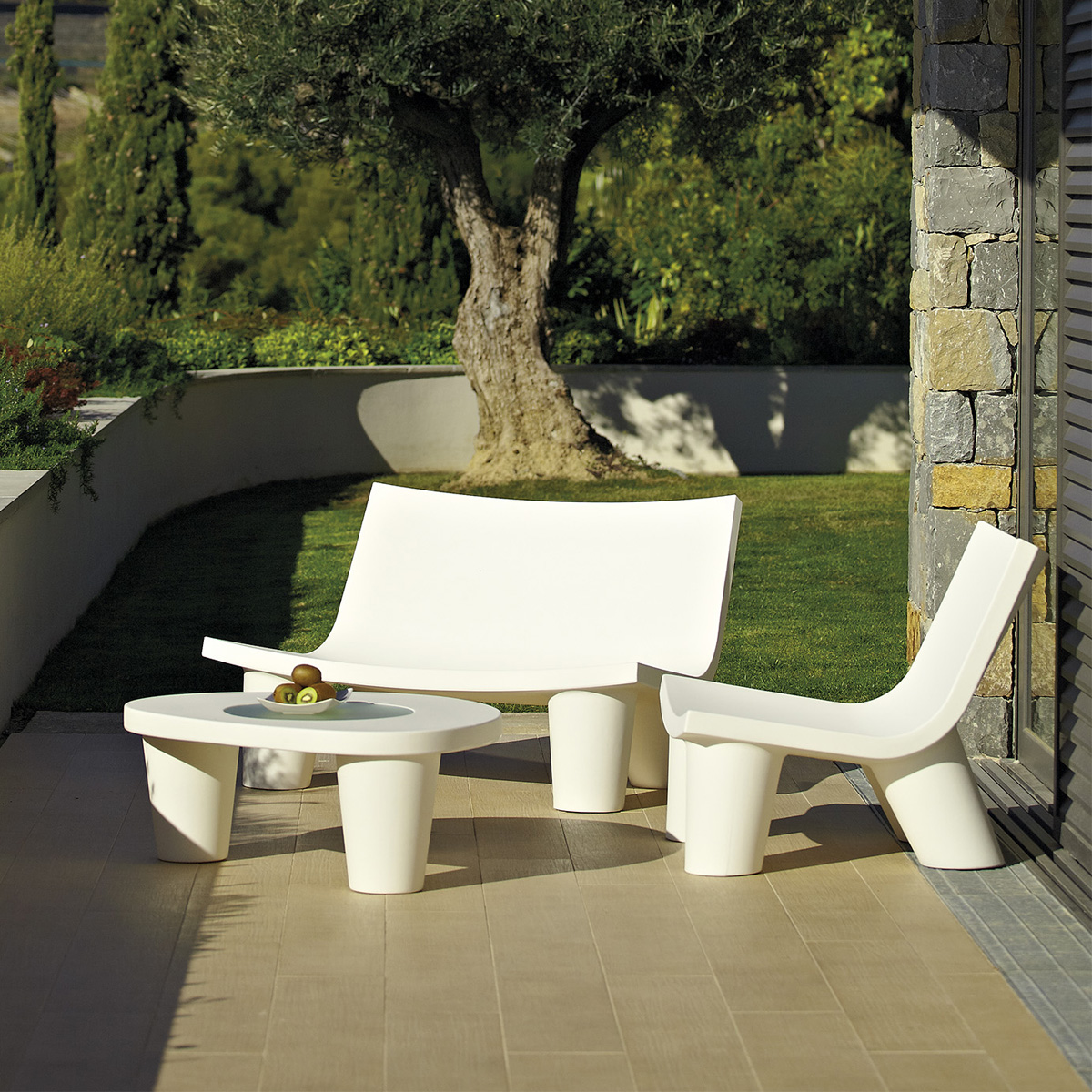 Low Lita Love lounge chair from Slide
