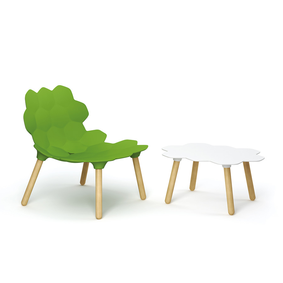 Tarta lounge chair from Slide