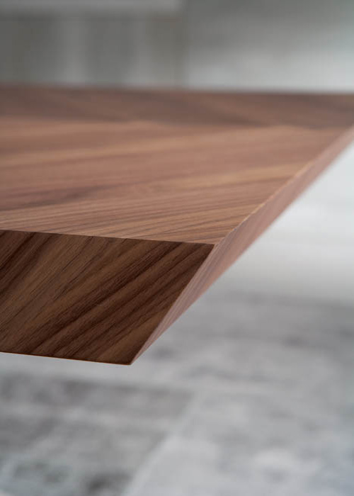 4x4 Fixed T241 dining table from Ozzio