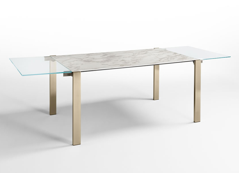 Livingstone Ceramic dining table from Tonelli