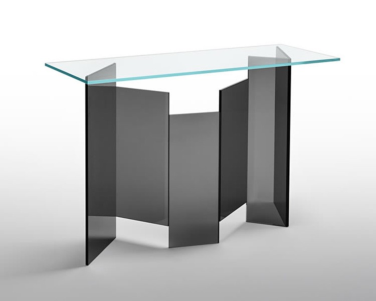 Metropolis Console table from Tonelli, designed by G. Maurizio Scutellà