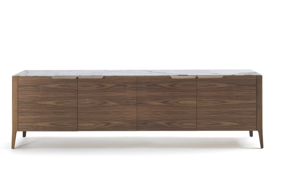 Atlante 4 Wood cabinet from Porada