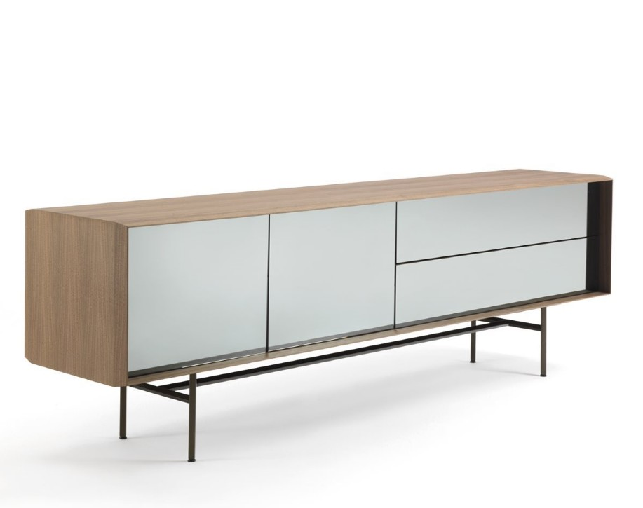 Harald console table from Porada, designed by Gino Carollo