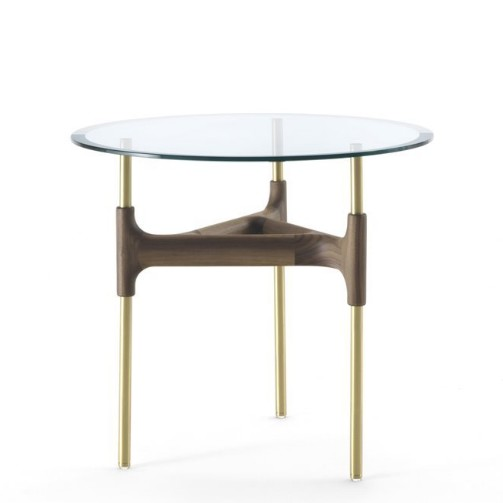Joint 60 end table from Porada, designed by M. Marconato and T. Zappa