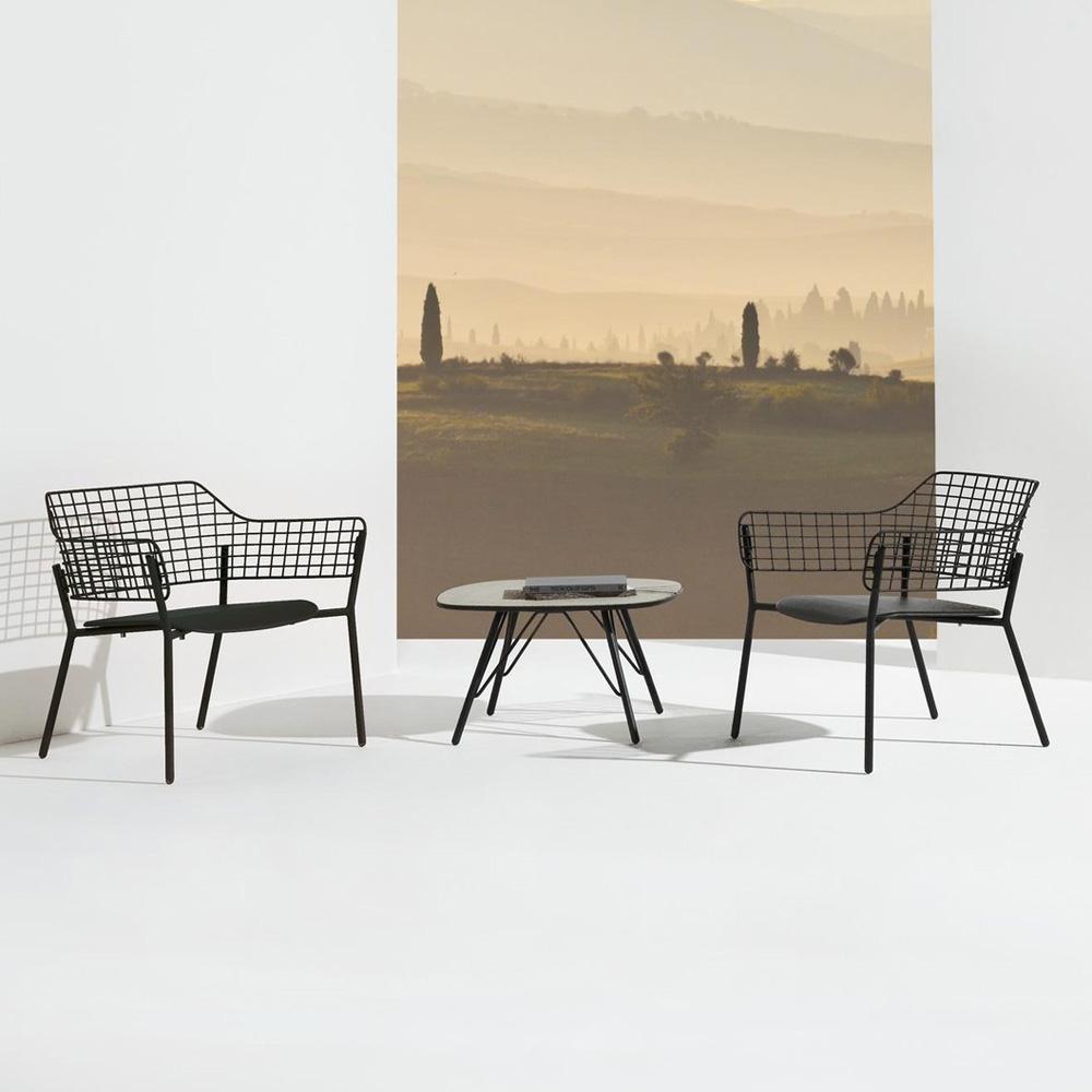 Lyze Lounge Chair 617 from Emu