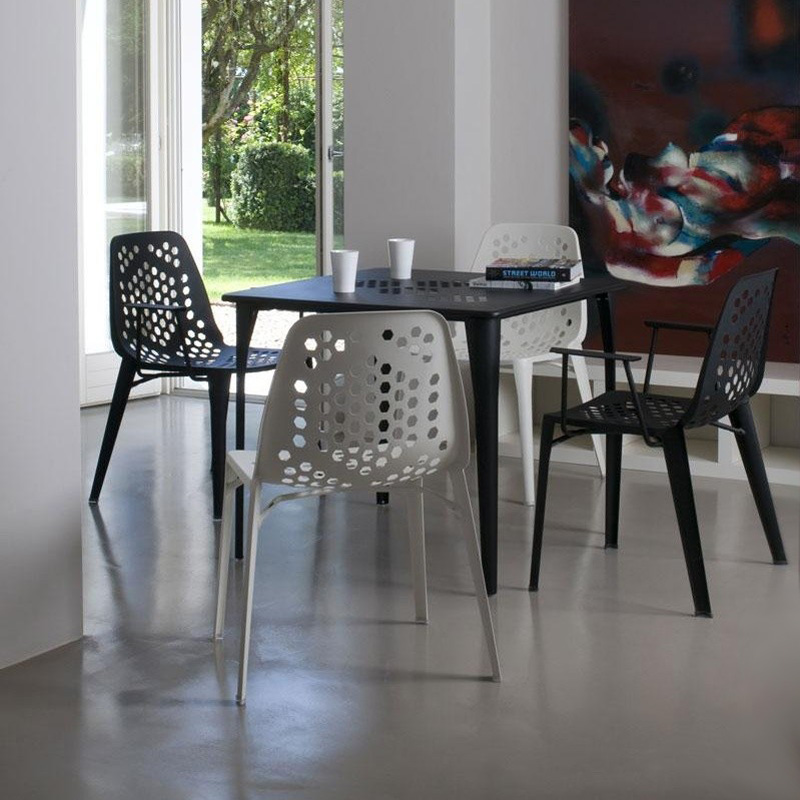 Pattern Square Table 519 dining from Emu