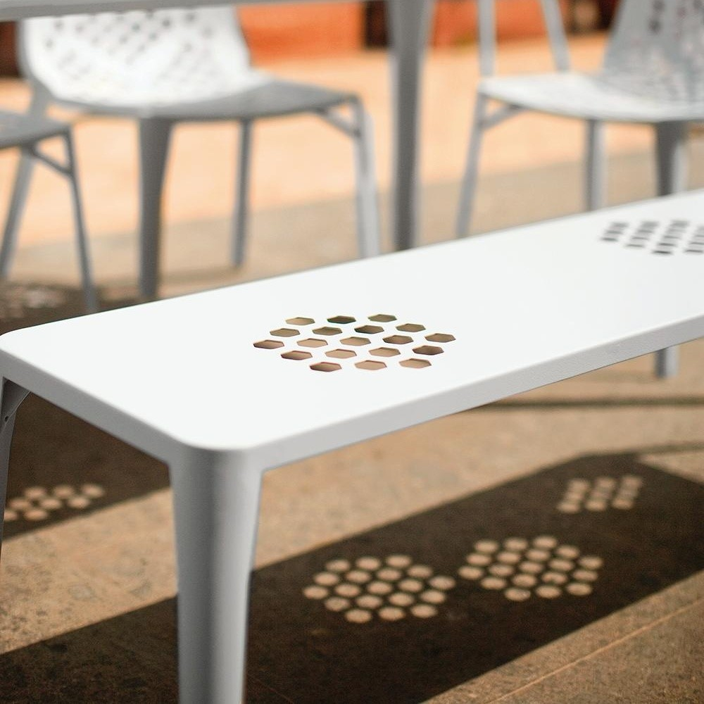 Pattern Bench 512 chair from Emu