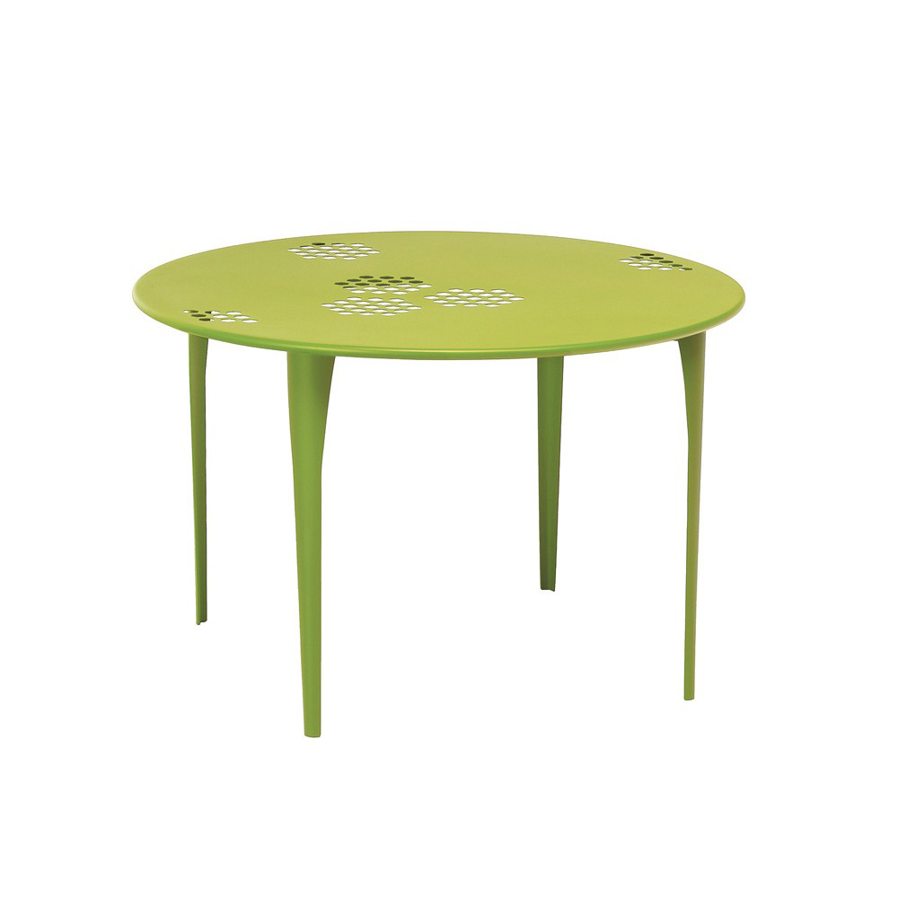 Pattern Round Table dining from Emu