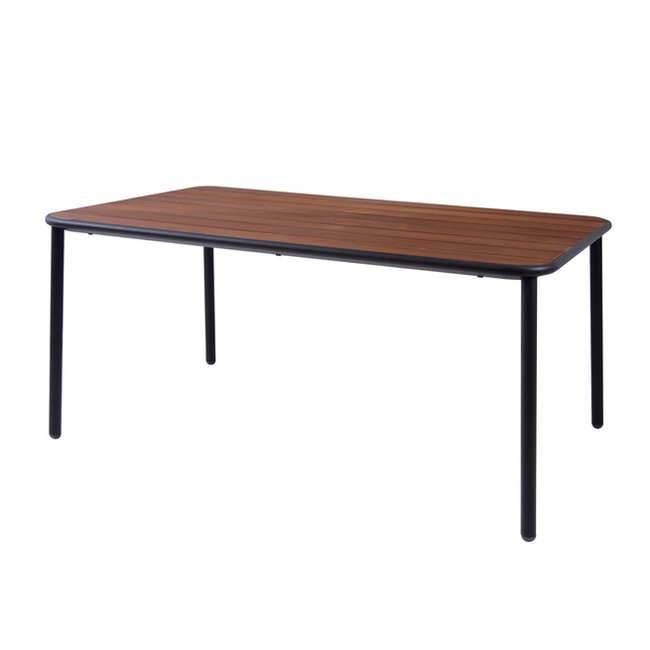 Yard Dining Table (Wood Top) from Emu